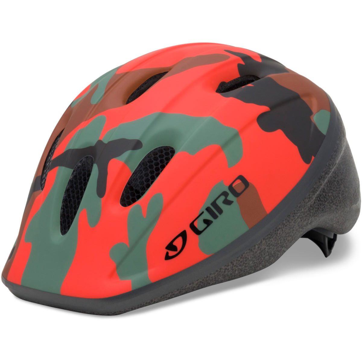 Casque Enfant Giro Rodeo - 50-55cm Glowing Red Camo