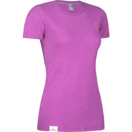 T-Shirt donna parkrun Classic Radiant Orchid