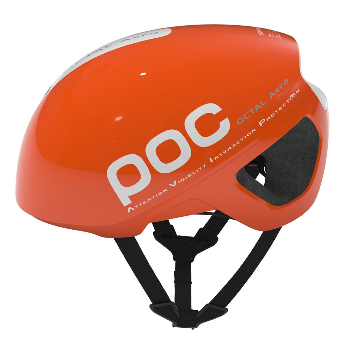 Casque de route POC Octal Aero AVIP - S Zinc Orange Casques de route