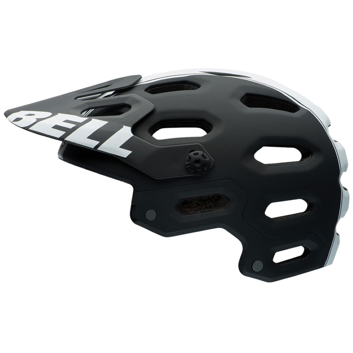 Casque VTT Bell Super 2 - L Matt Black/White Casques VTT