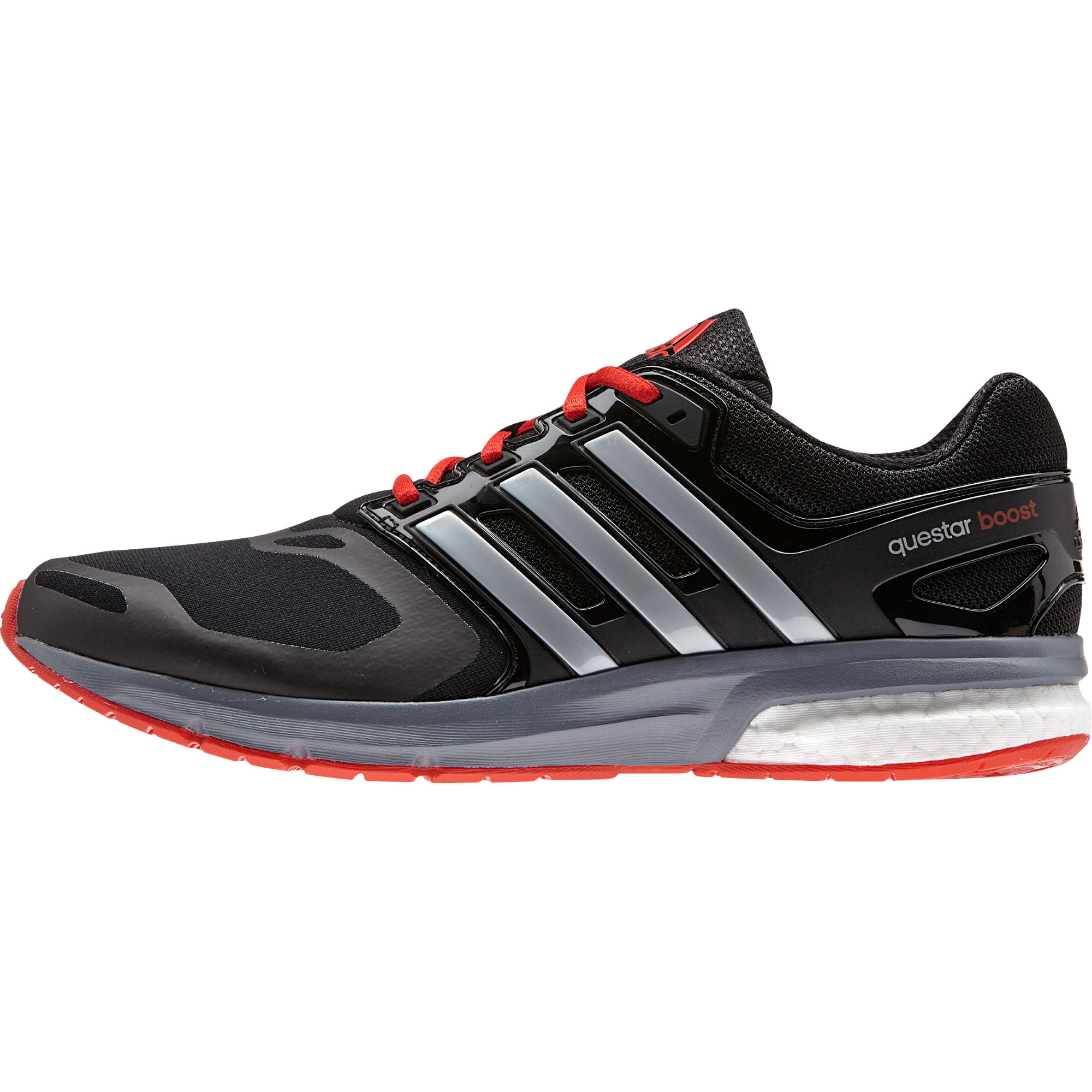 Adidas running shoes for women red