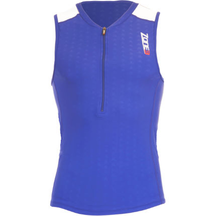 Zone3 Aquaflo Tri  Top Blue / Grey