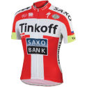 Sportful Tinkoff-Saxo Danish Champ Team Jersey