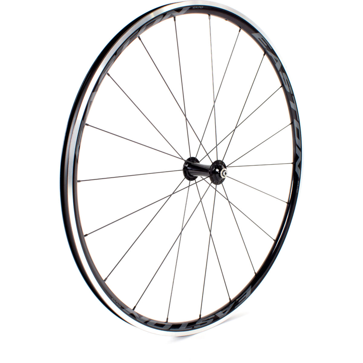 Roue avant Easton EA 70 (alliage, route) - 700c Noir Roues performance