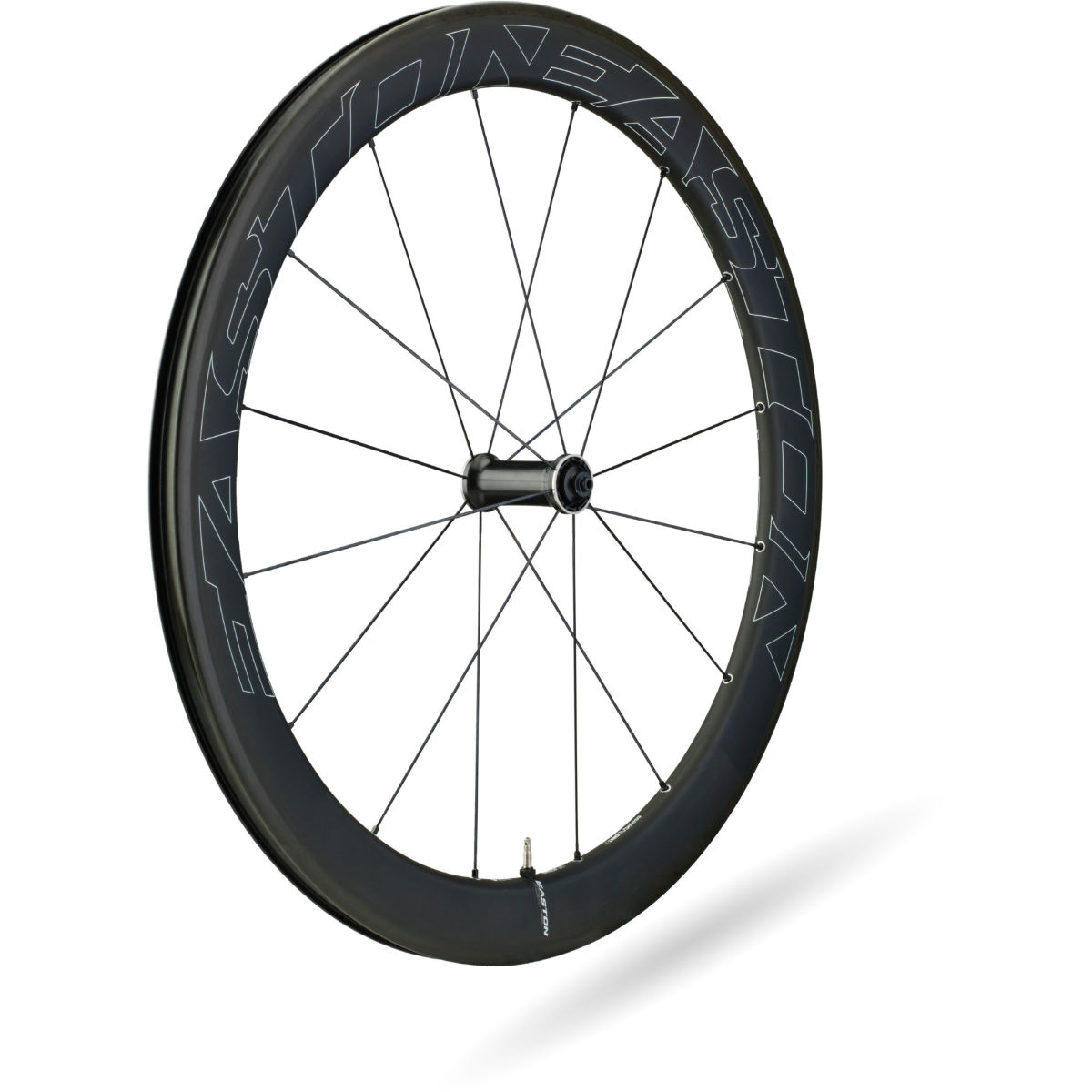 Roue avant Easton EC90 Aero Tubeless (carbone) - 700c Noir