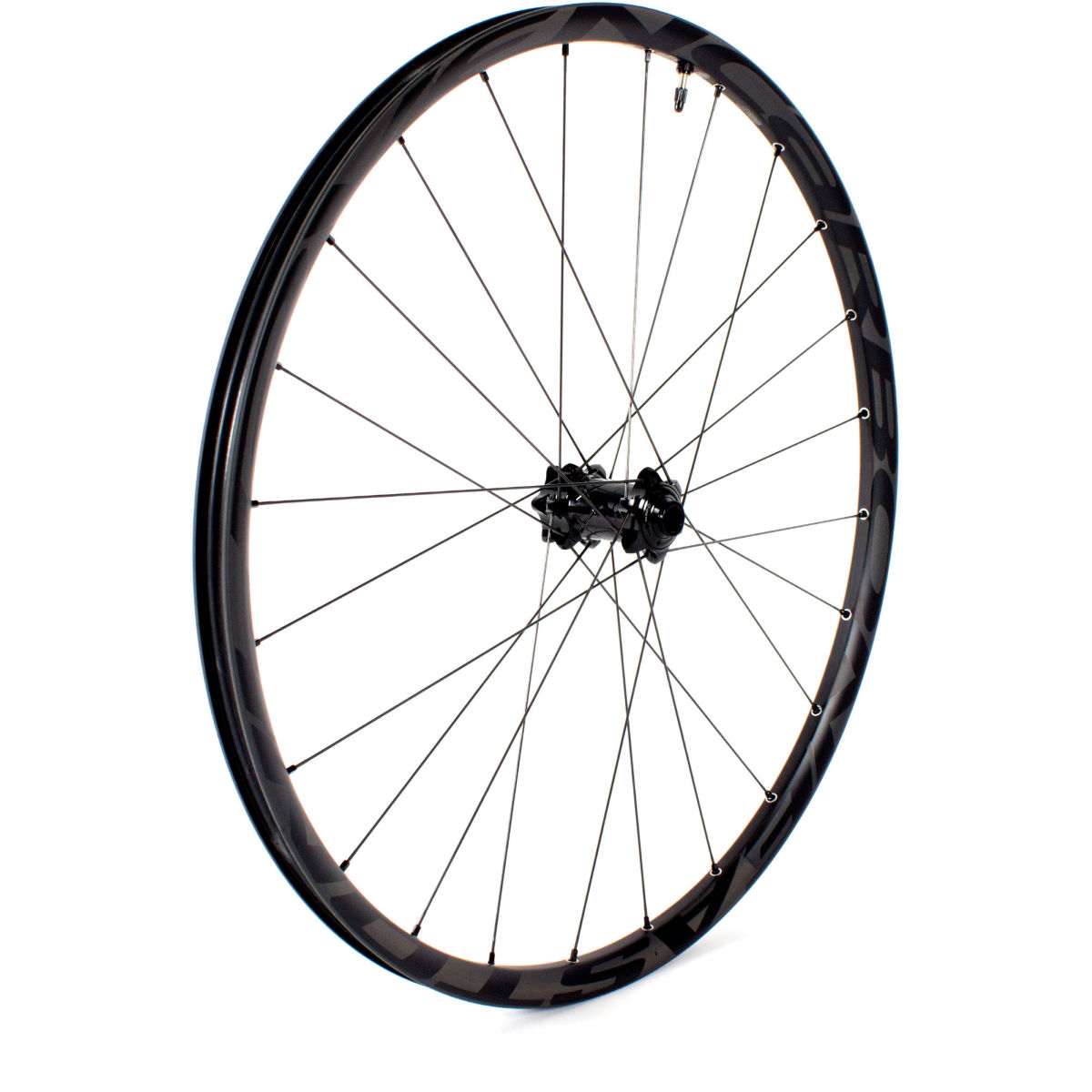 Roue avant VTT Easton Haven 27,5 pouces (carbone) - 15mm Front Noir