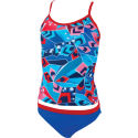Zoggs Girls Squad Code Tankini AW15