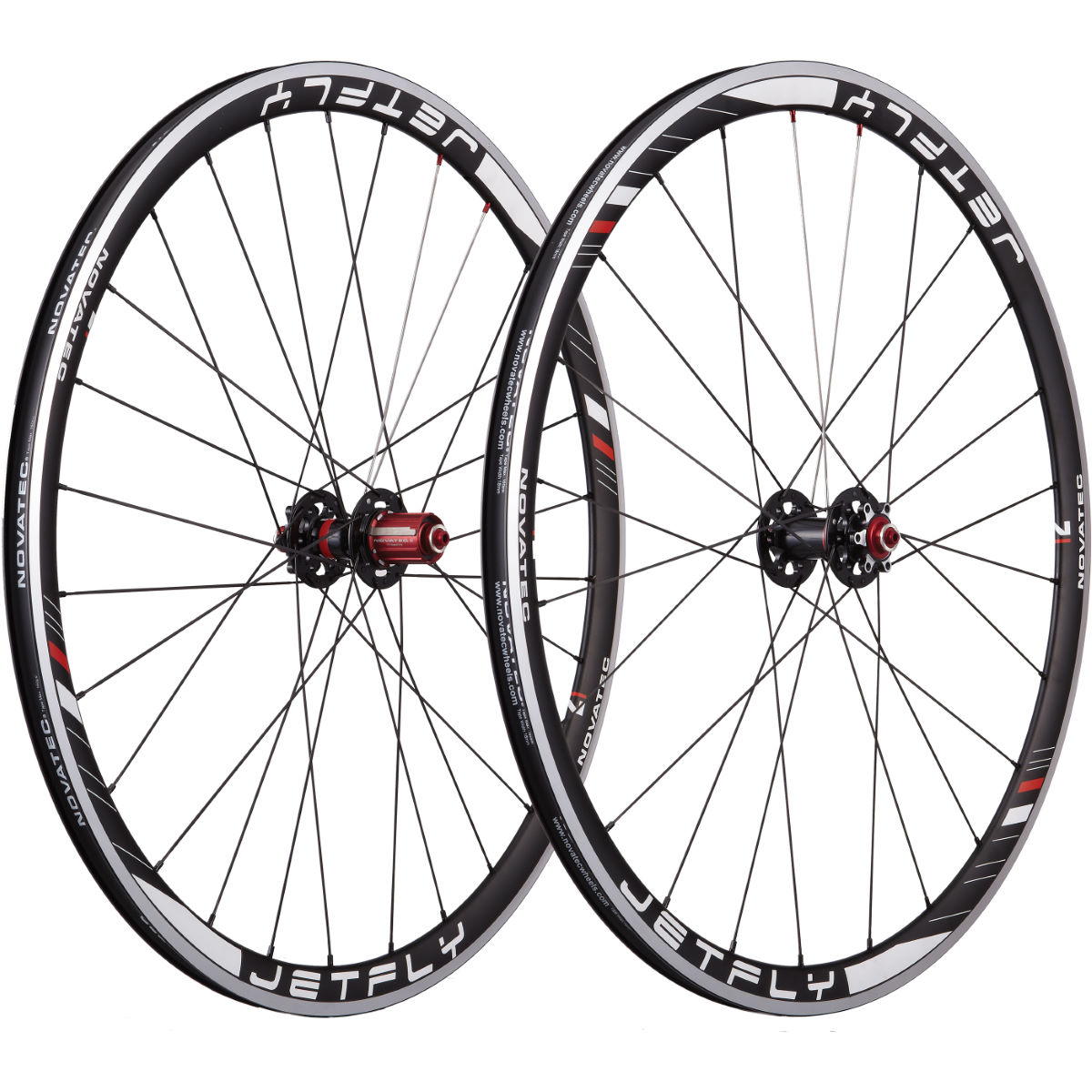 Novatec Jetfly Alloy Clincher Disc Brake Road Wheelset   Performance Wheels