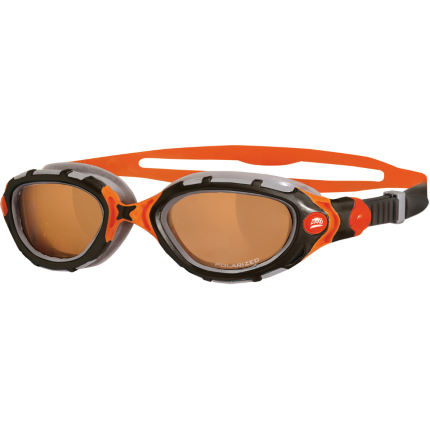 Zoggs Predator Flex Polarized Ultra - Orange/Black