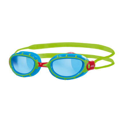 Zoggs Predator Junior Goggles Lime/Blue
