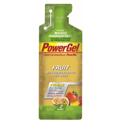 PowerBar Fruit Gels With Caffeine - 24 x 41g