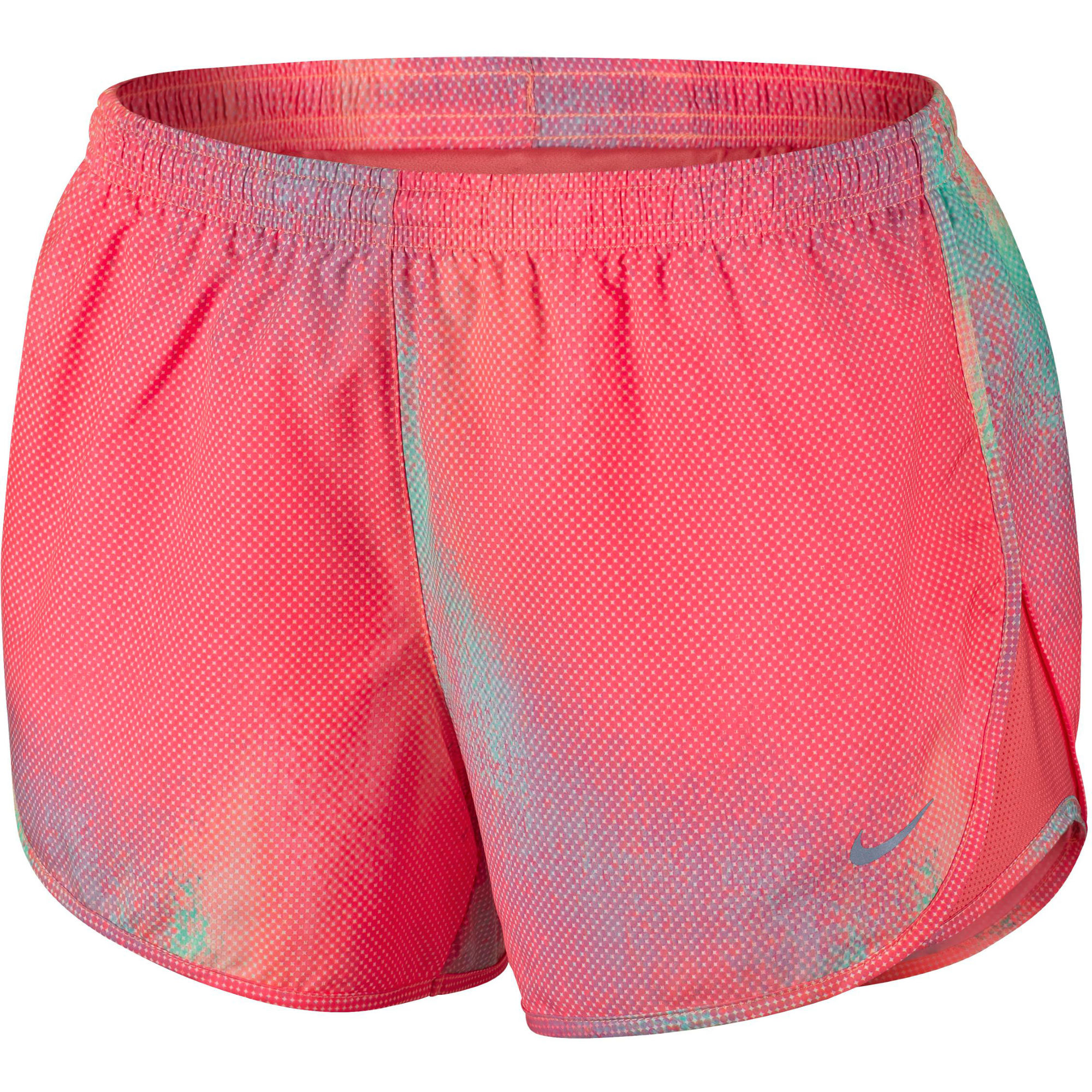 Nike womens running shorts with liner - Nike Women S Printed Modern Tempo Short Su15