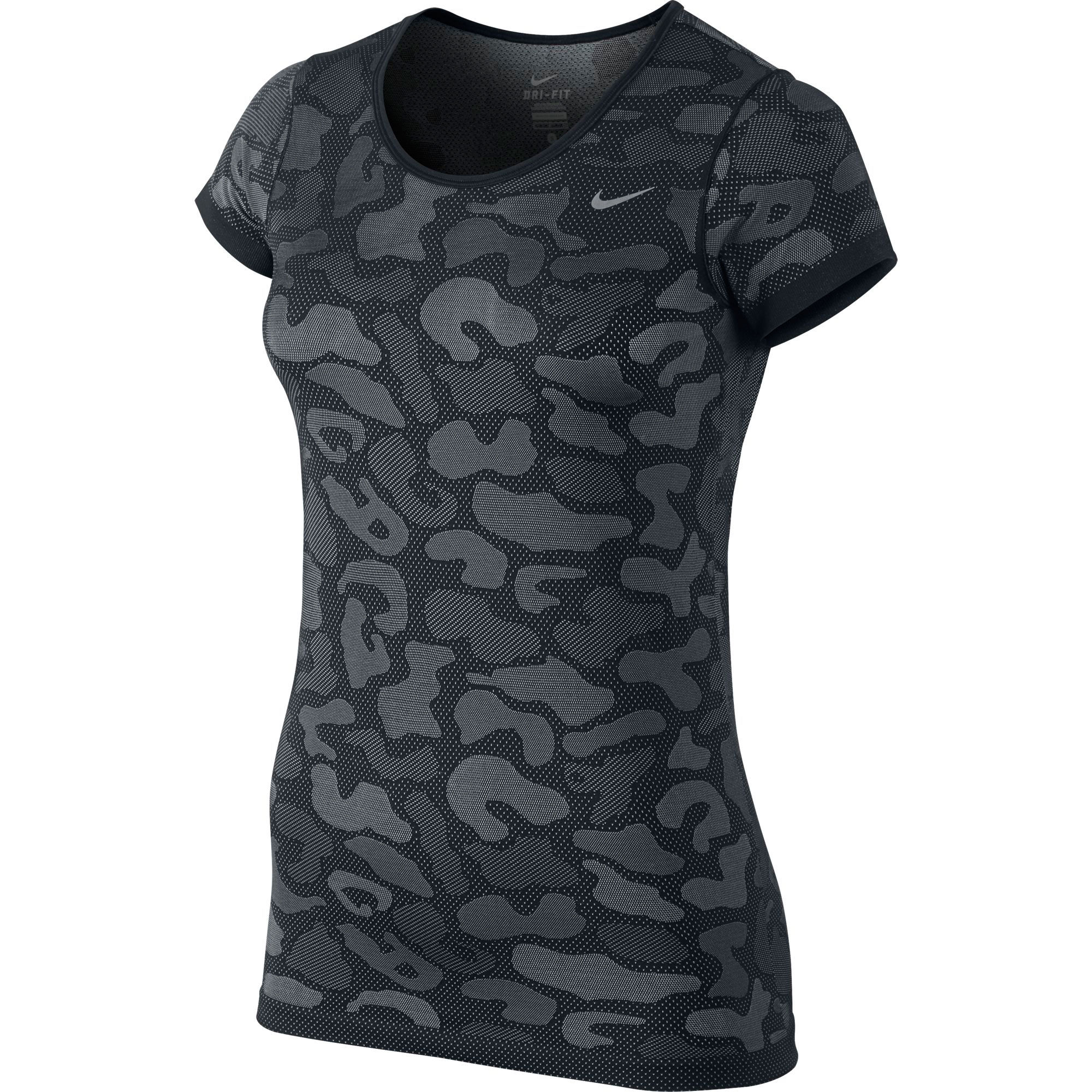 Wiggle nike dri fit knit contrast top women 39 s fa15 for Best athletic dress shirts