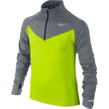 Nike Element 1/2 Zip Long Sleeve Top Youth  - FA15