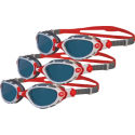 Zoggs Predator Flex Polarized Goggles - Bundle of Three