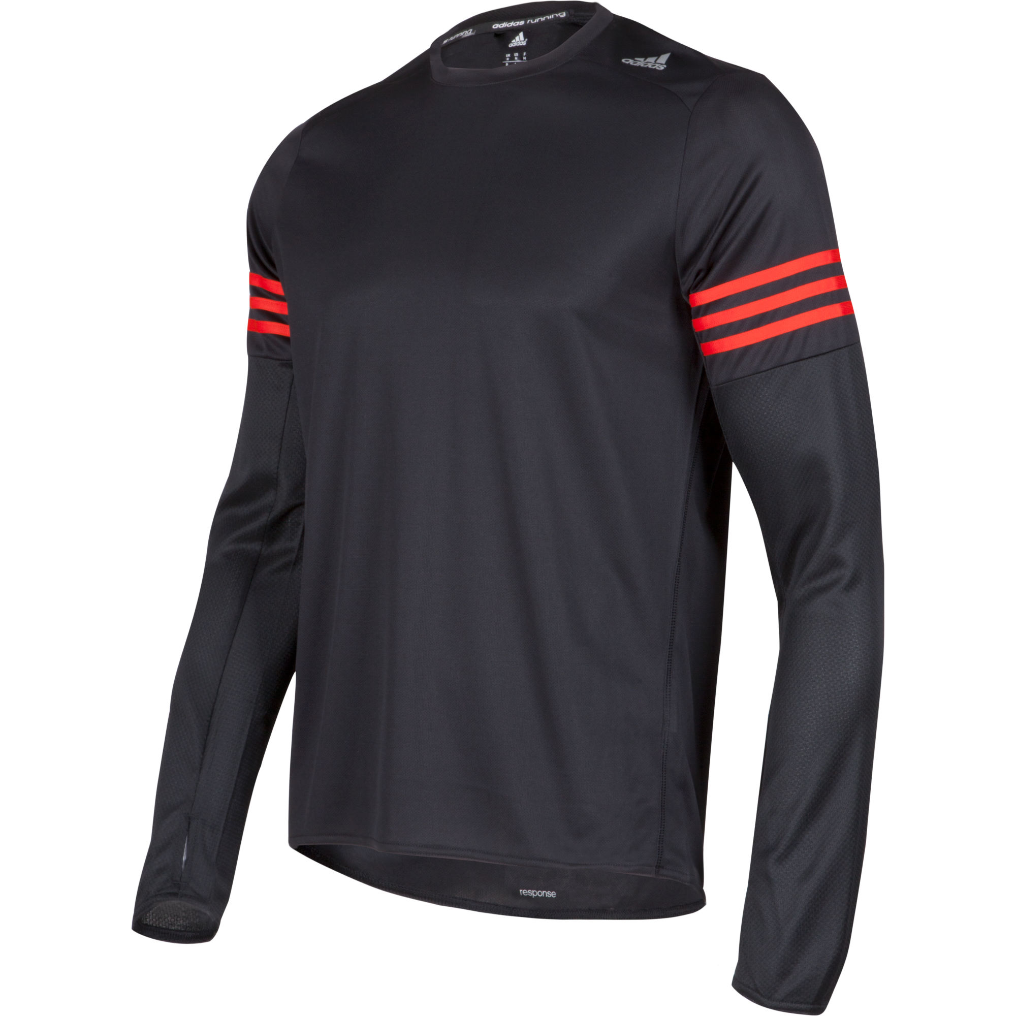 Wiggle  Adidas Response Long Sleeve Tee  AW15  Long Sleeve Running