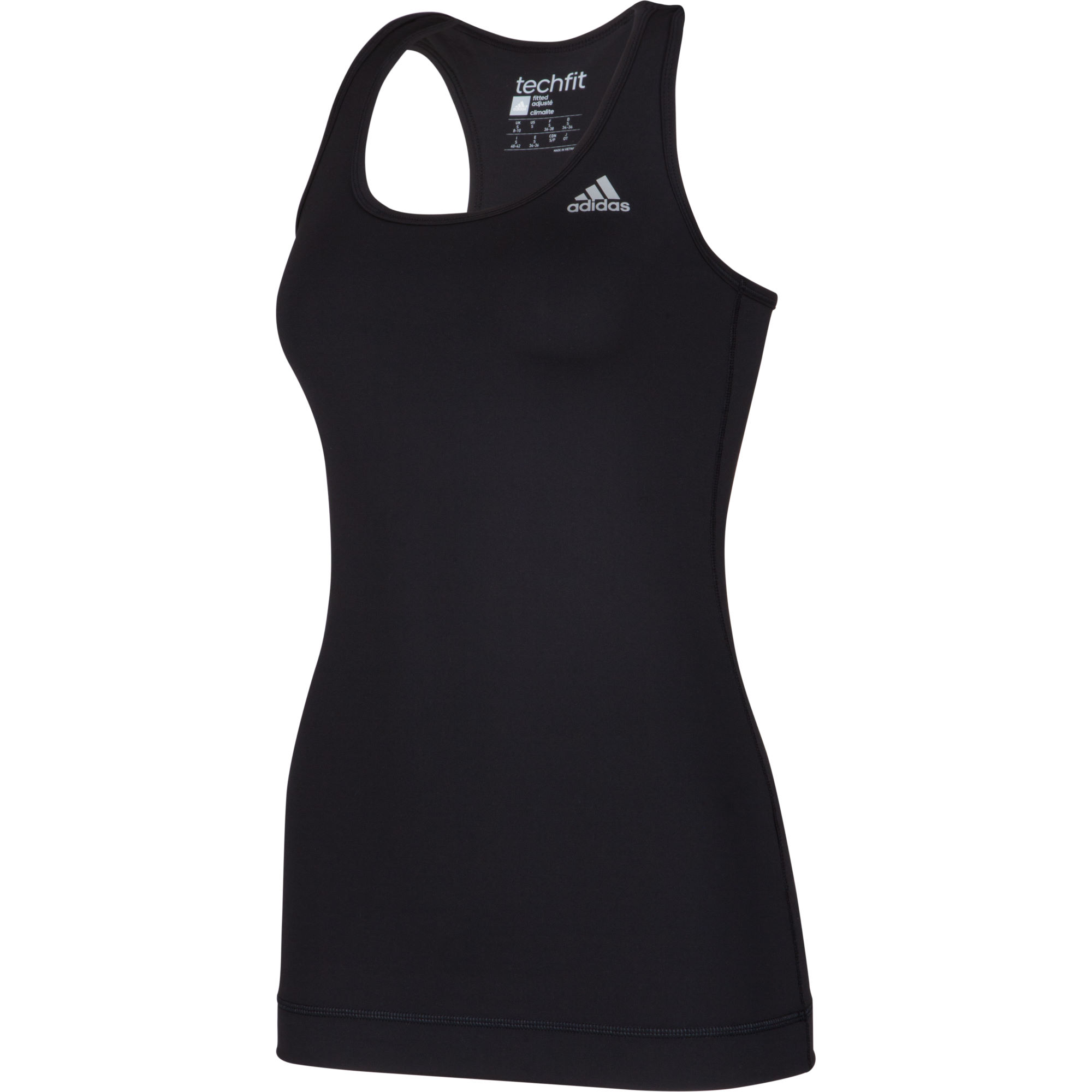 wiggle adidas women 39 s techfit tank top aw15 running. Black Bedroom Furniture Sets. Home Design Ideas