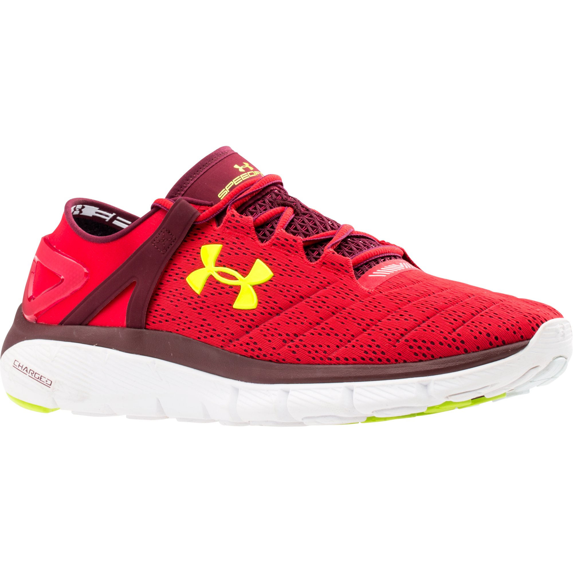Zapatillas Under Armour SpeedForm Fortis (rojo) , OI15
