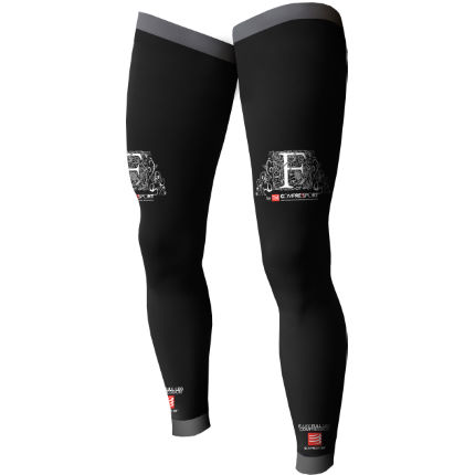 Scaldamuscoli lunghi a compressione F Like - Compressport