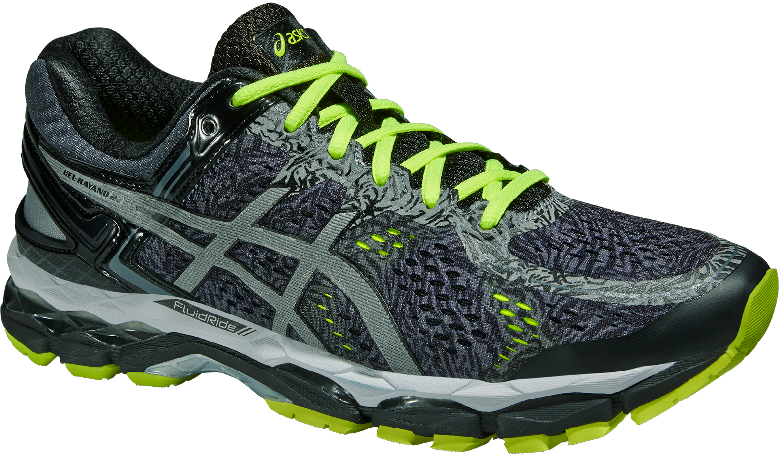 asics gel-kayano 22 lite-show running shoes - aw15