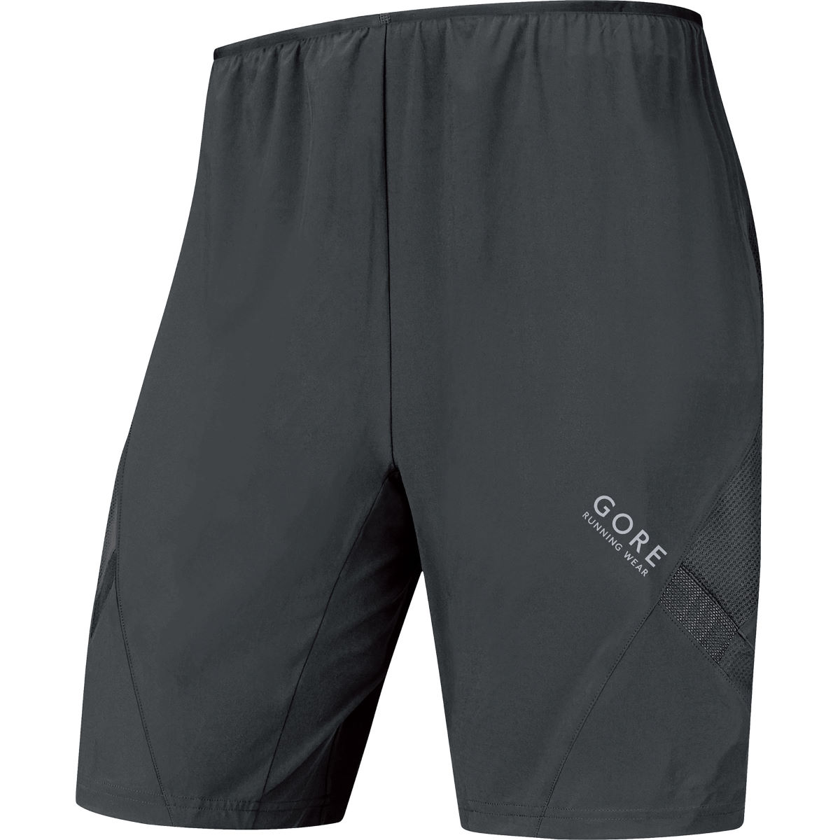 Gore Running Wear Air Shorts (2in1, AW16) - Small Black
