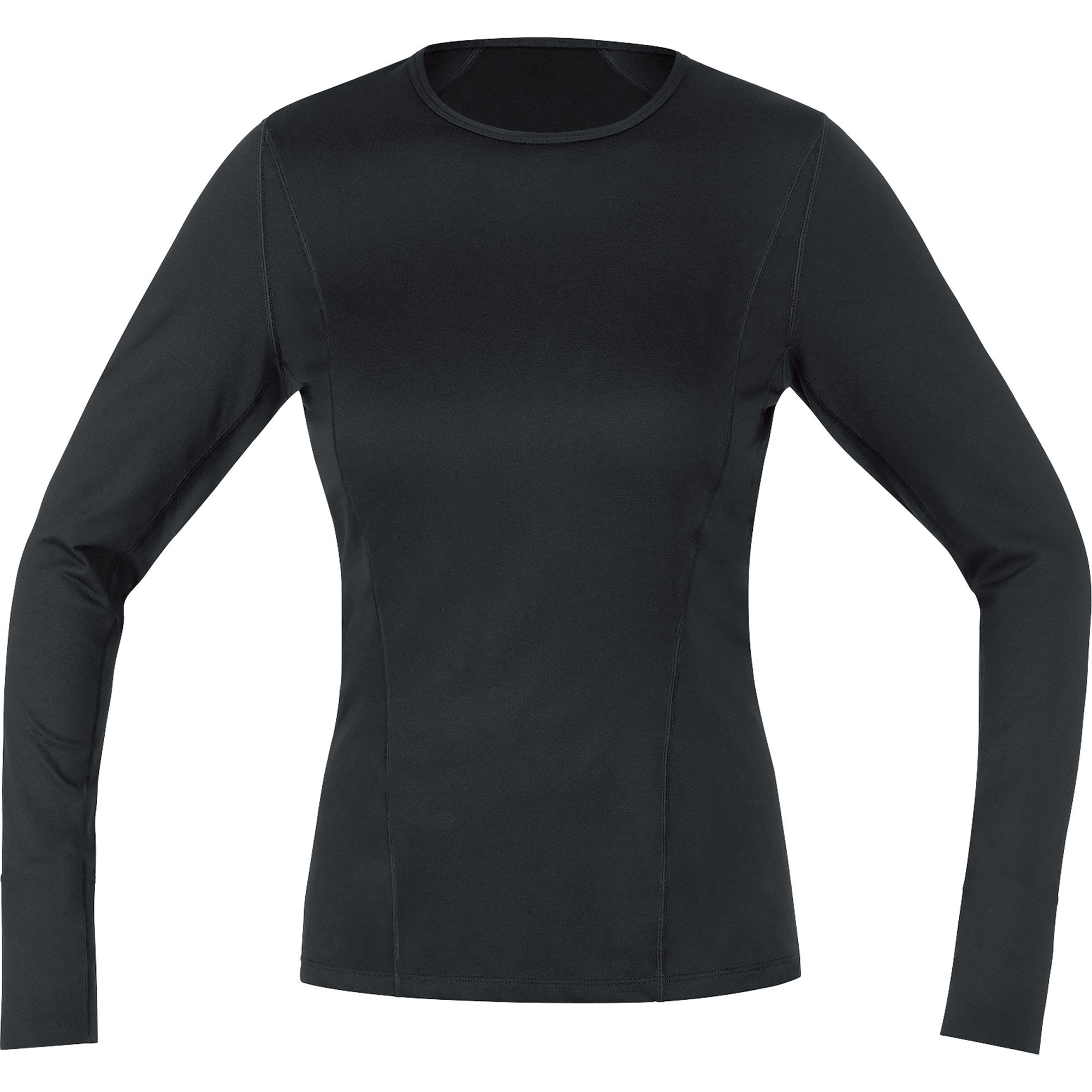 Wiggle gore running wear essential base layer ls shirt for Womens base layer shirt