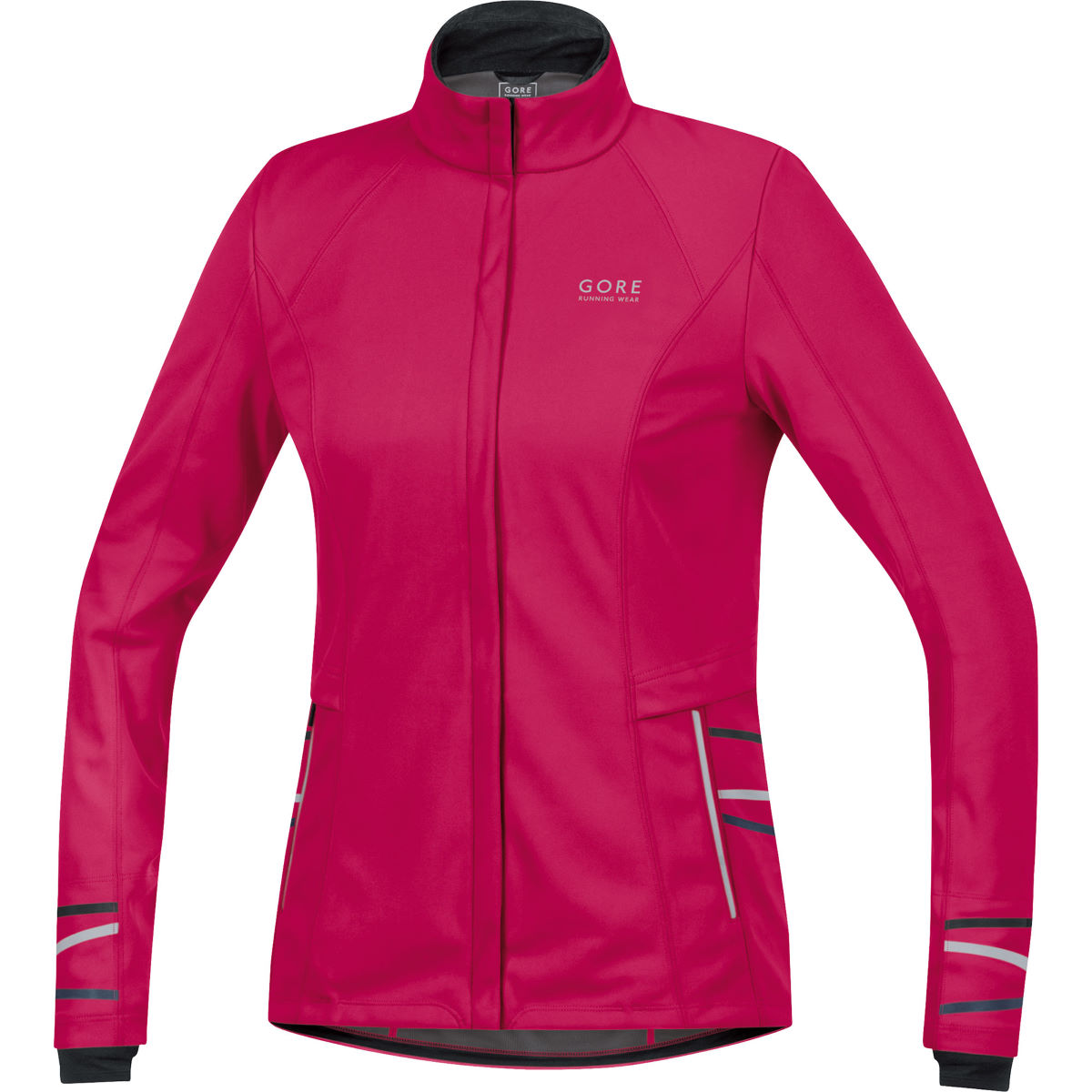 Veste Femme Gore Running Wear Mythos 2.0 Windstopper (AH15) - L Rose Vestes de running coupe-vent