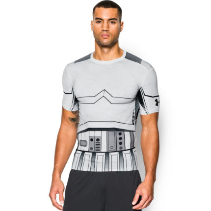 Under Armour Alter Ego Star Wars Storm Trooper Kompressionströja - Herr