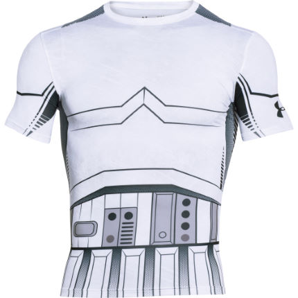 Under Armour Alter Ego Star Wars Storm Trooper Kompressionsshirt (kurzarm)
