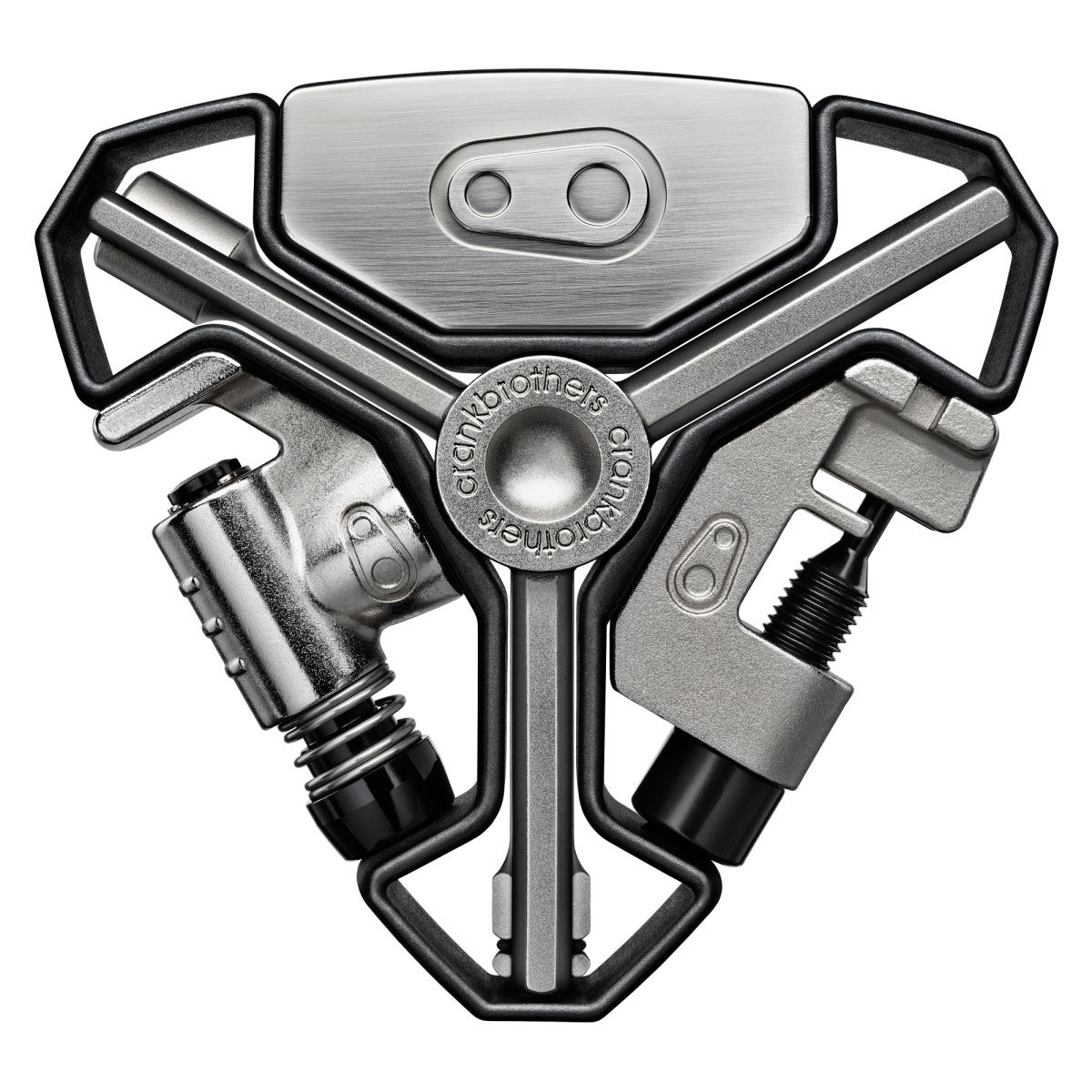 Outils multifonctions crank brothers y 16 multitool for Multi outil black et decker