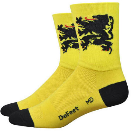 DeFeet Aireator Lion of Flanders Socks