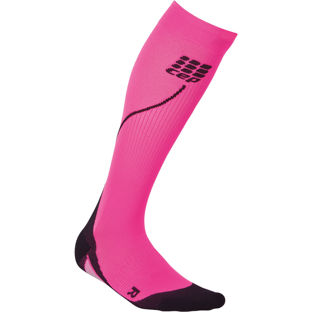 Chaussettes Femme CEP 2.0 (running, compression) - II Pink/Black