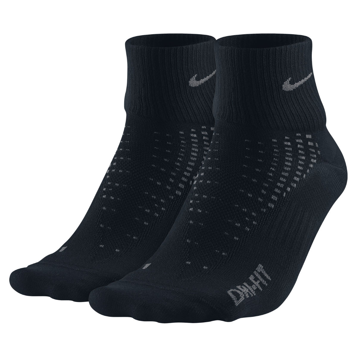 Nike Anti Blister Quarter Running Socks (2Pack, HO15)