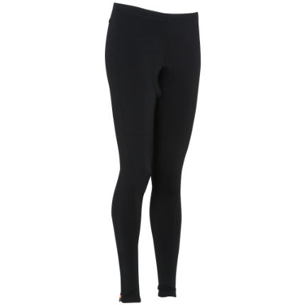Wiggle Essentials thermische, lange fietsbroek voor dames