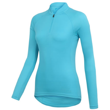 Wiggle Essentials Women's Long Sleeve Cycle Jersey