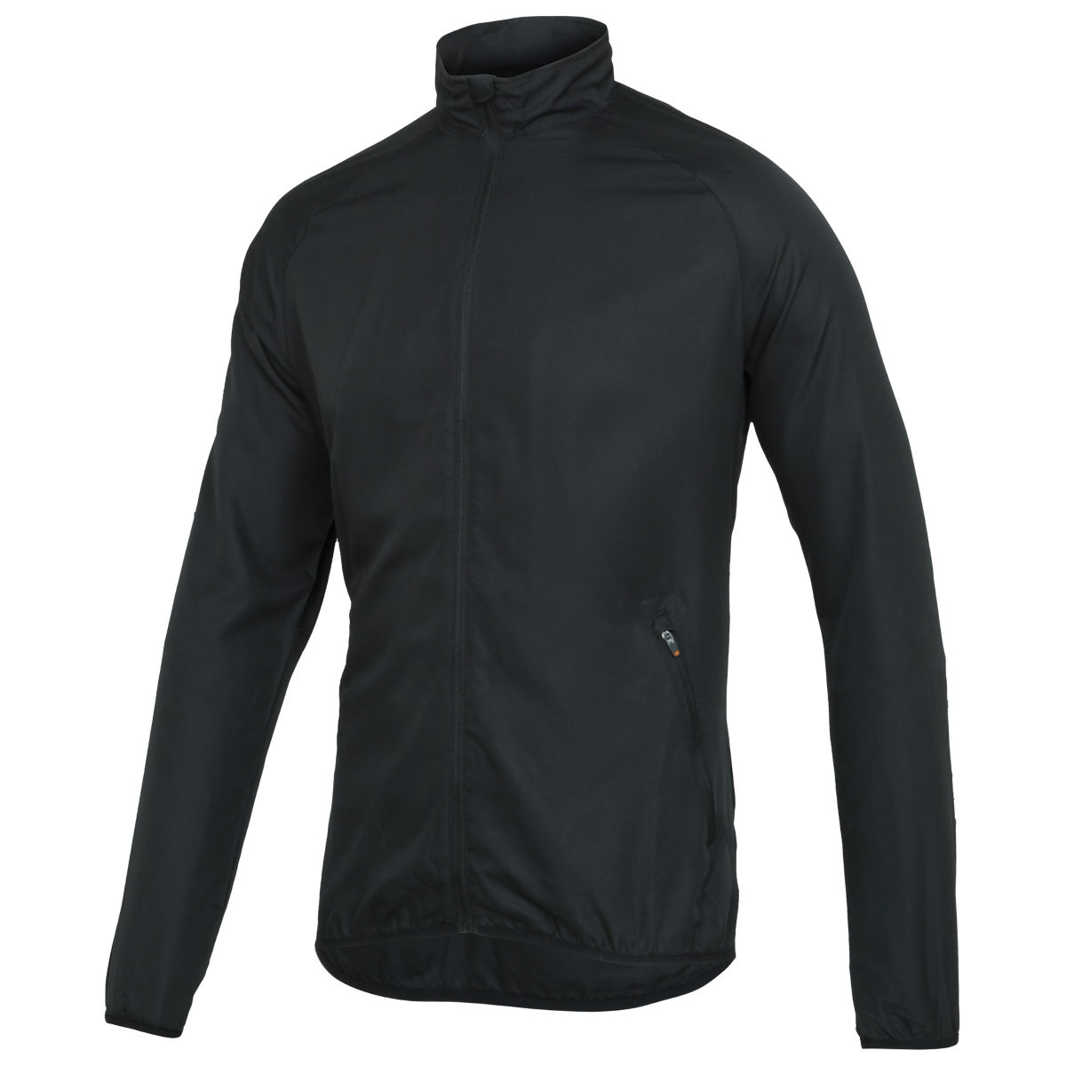 Veste Wiggle Essentials Run - S Noir Vestes de running coupe-vent