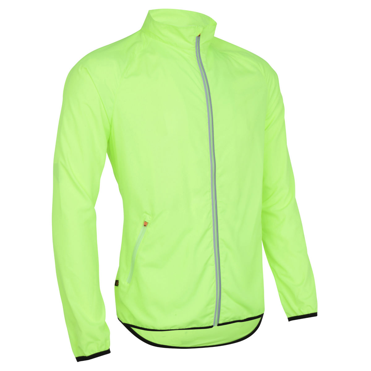 Veste Wiggle Essentials Run - S Jaune Vestes de running coupe-vent