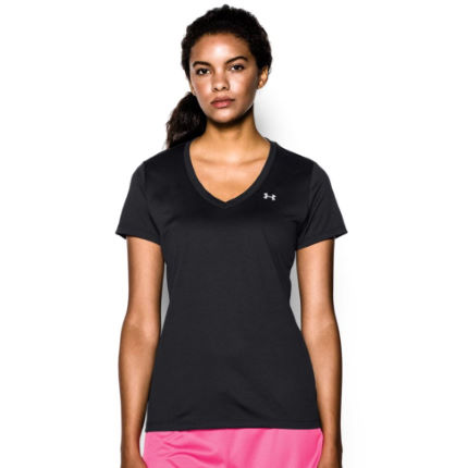 Maillot Femme Under Armour Tech (col en V, AH16)