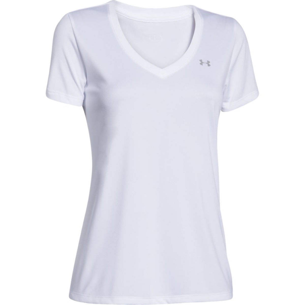 Maillot Femme Under Armour Tech (col en V, manches courtes) - XS