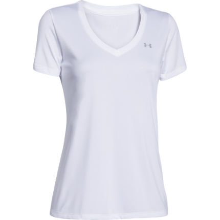 Under Armour Tech V-Neck Kortärmad tröja (HV16) - Dam