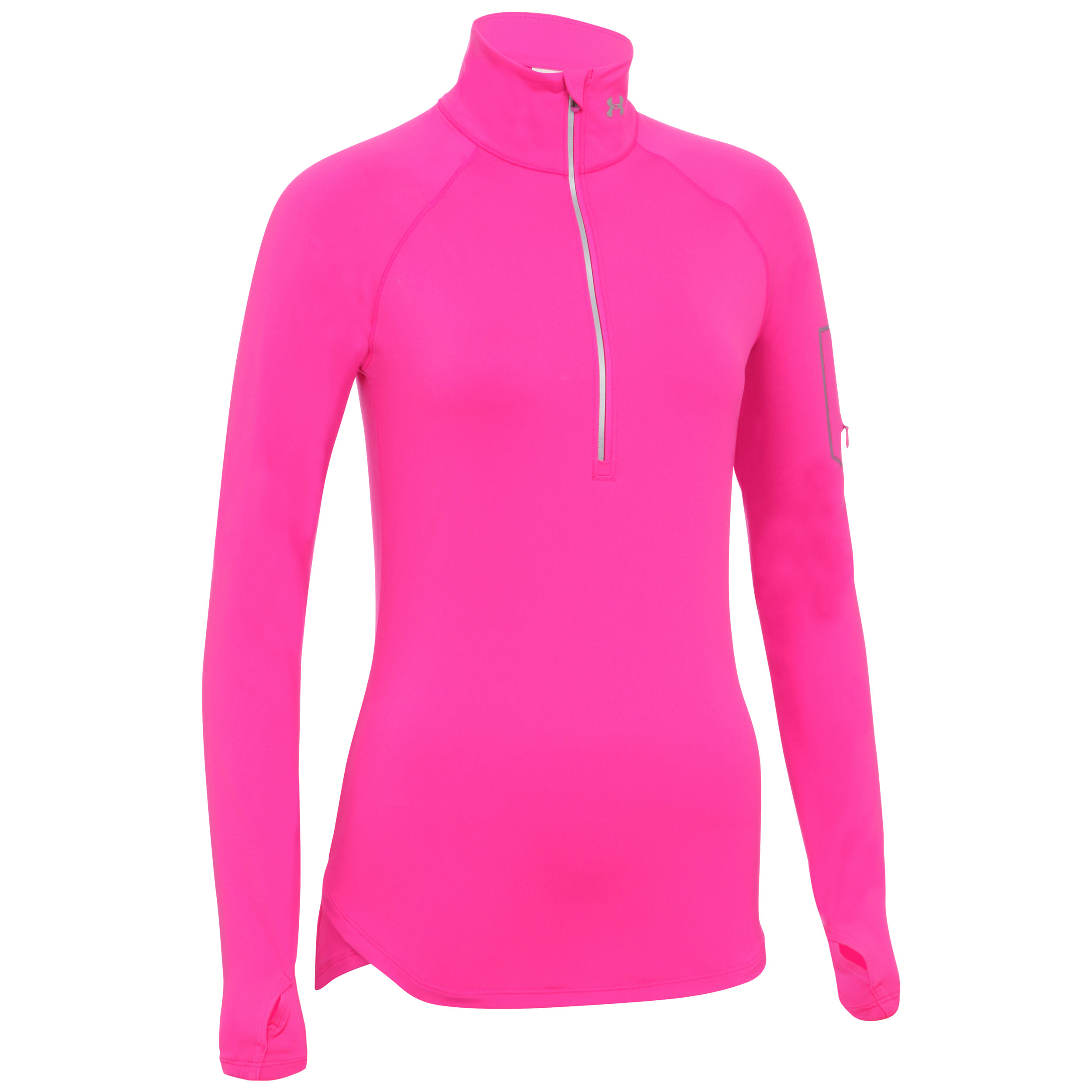 Buy pink under armour long sleeve shirt 57 off for Yellow under armour long sleeve shirt