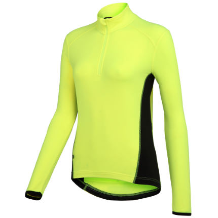 Wiggle Essentials Women's Long Sleeve Thermal Cycle Jersey