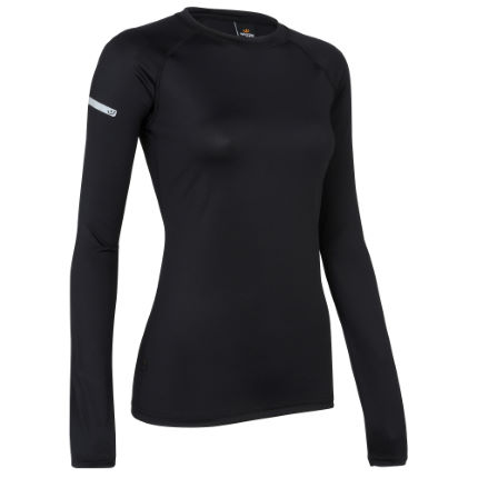 Maillot Femme Wiggle Essentials Run (manches longues, PE16)