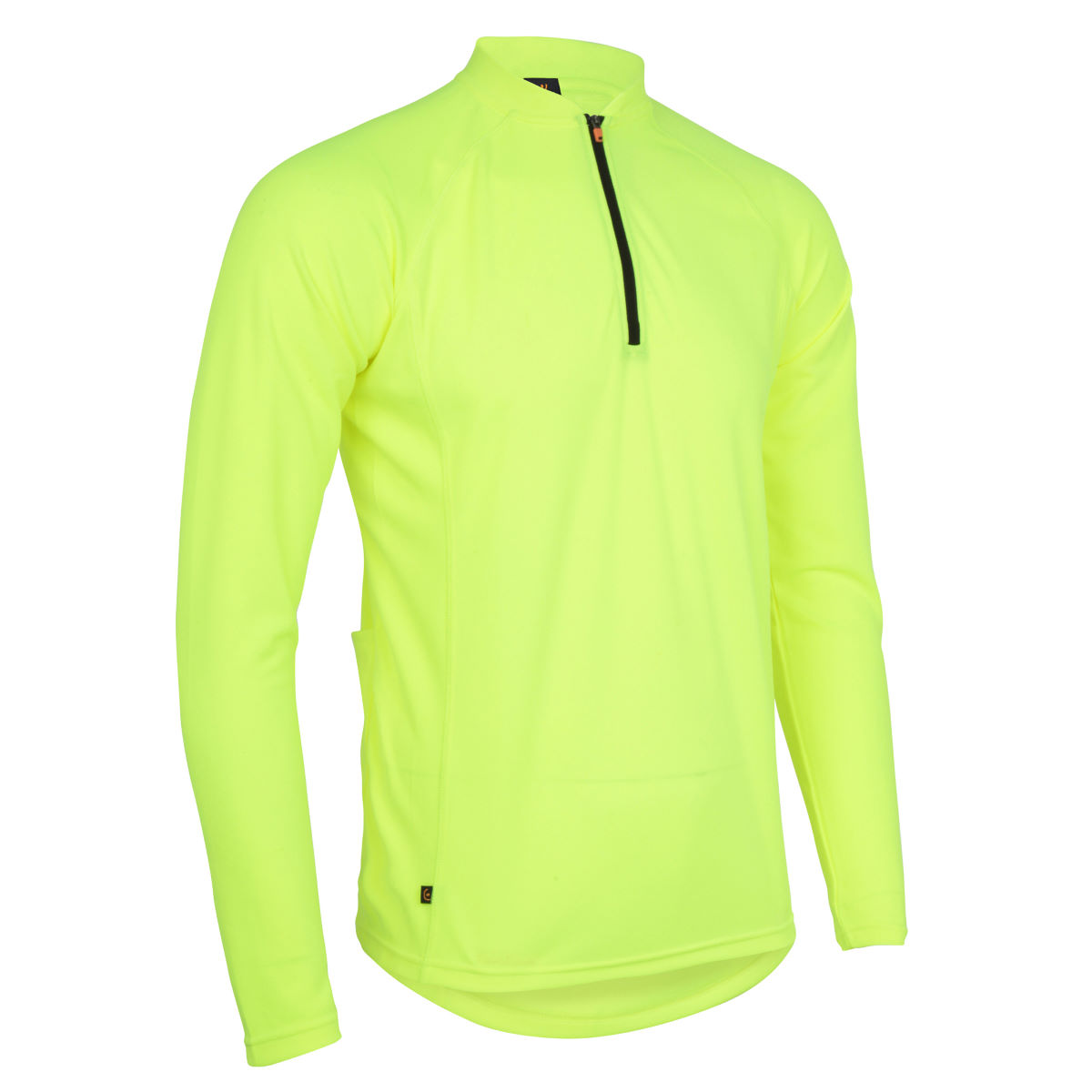 Maillot Wiggle Essentials (manches longues) - S Neon