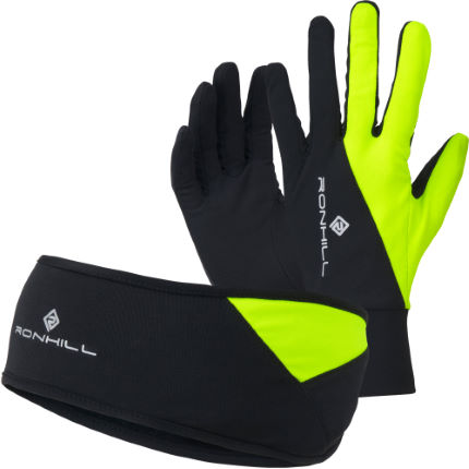 Ronhill Unisex Headband and Glove Set (AW16)