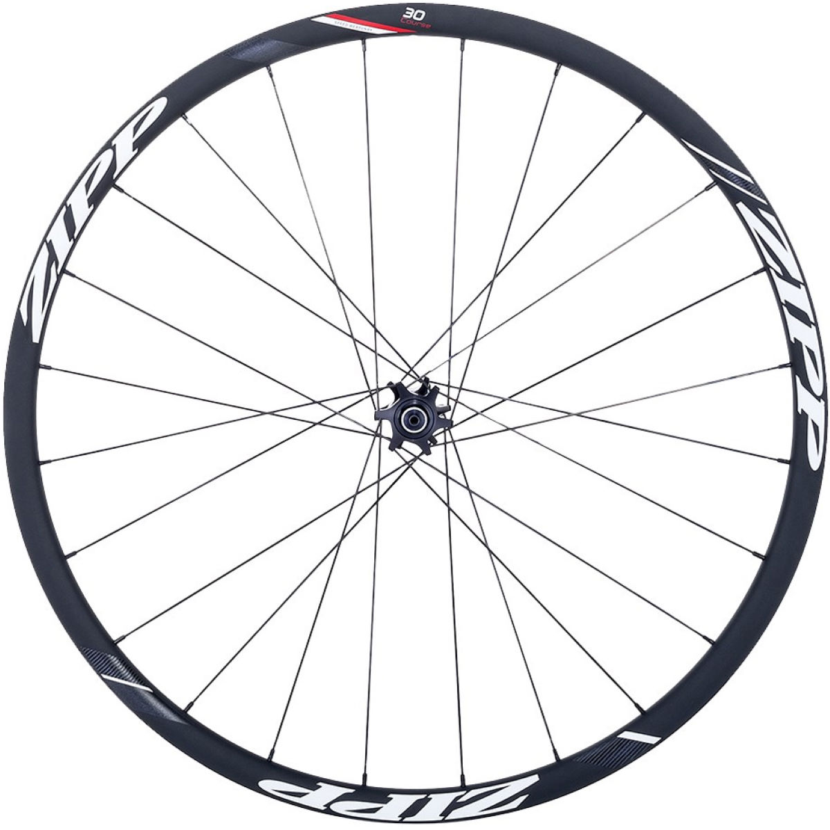 Zipp 30 Course Disc Brake Clincher Front Wheel - 700c Clincher (Disc) Noir Roues performance