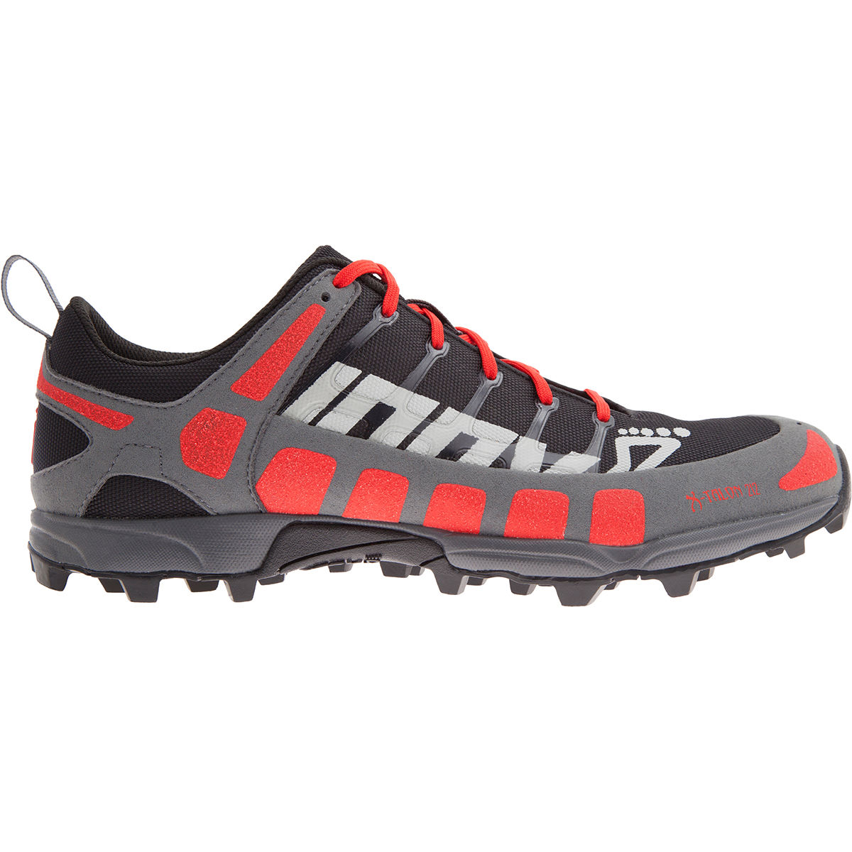Chaussures Inov-8 X-Talon 212 Precision (AH16) - 11 UK Black/Red/Grey Chaussures de running trail