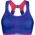 Shock Absorber Ultimate Run Bra - Blue/Pink
