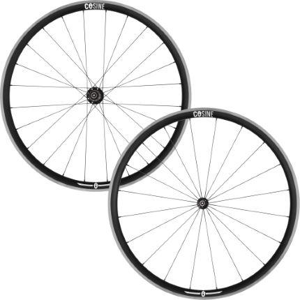 Set di ruote da strada clincher in alluminio 32mm - COSINE