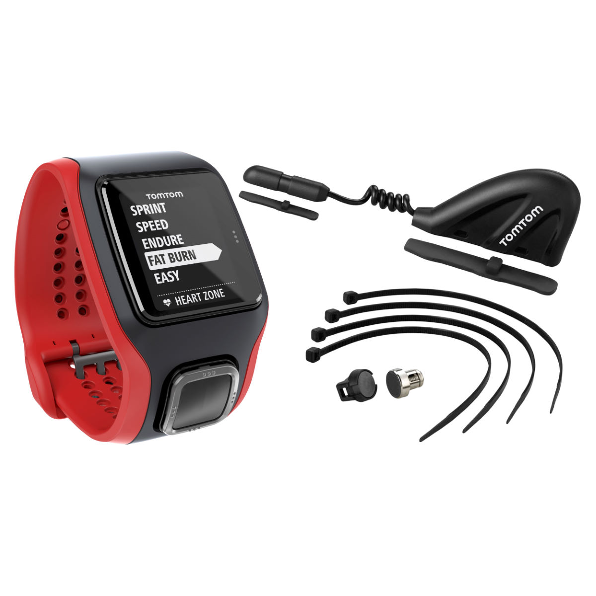 TomTom Multi-Sport Cardio GPS Watch inc FREE Sensor Pack